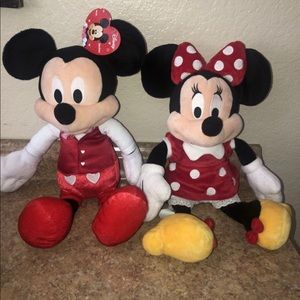 Full size Mickey and Minnie